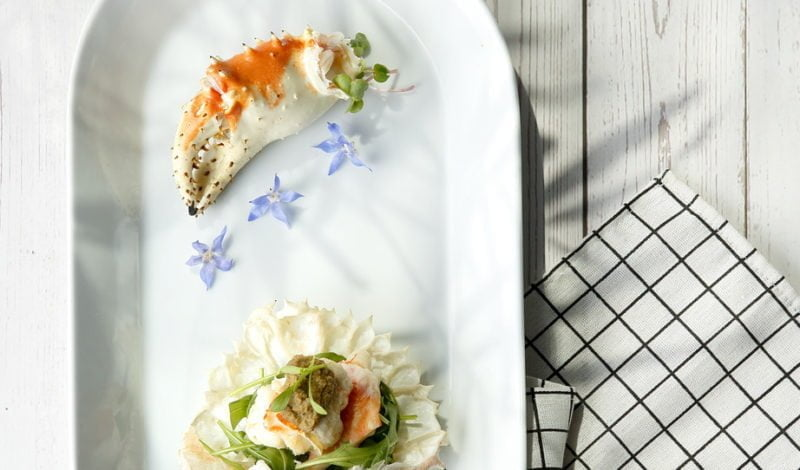 Recipes - Alaska King Crab Roasted with Thai Green Curry