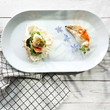 Cua Hoàng Đế Alaska nướng với Cà ri xanh Thái