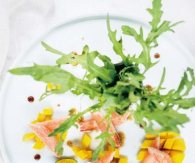Recipes - Mango Alaska Snow Crab Salad