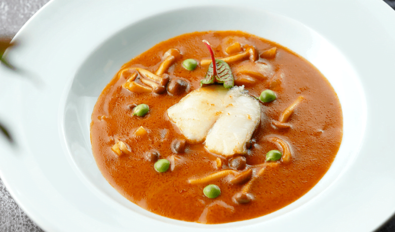 Recipes - Alaska Black Cod in Red Curry