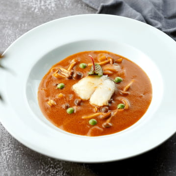 Alaska Black Cod in Red Curry