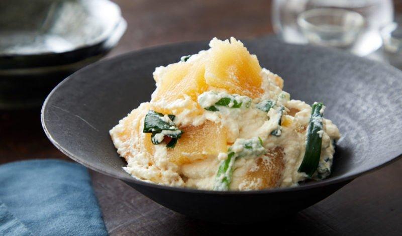 Recipes - Alaska Kazunoko Herring Roe Dressed with Smoothened Tofu