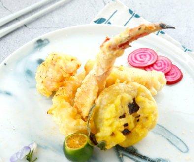 Recipes - Alaska King Crab and Vegetable Tempura