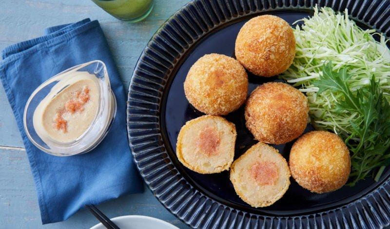 Recipes - Alaska Mentaiko Pollock Roe Croquette