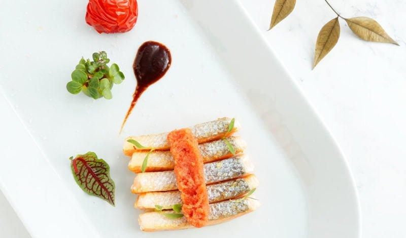 Recipes - Alaska Sockeye Salmon with Whiskey Cream Sauce and Alaska Pollock Roe