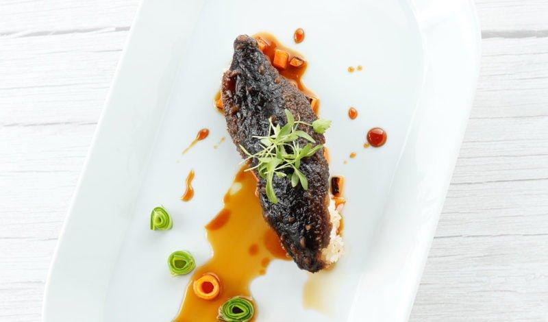 Recipes - Fried Alaska Sea Cucumber with Madeira Wine