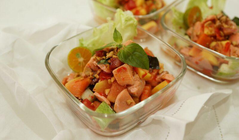 Salmon gohu 1